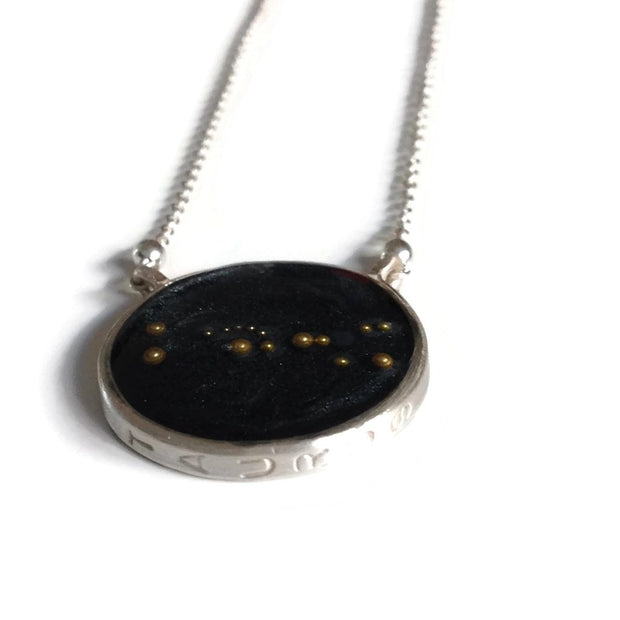 Taurus Constellation Necklace Night Sky