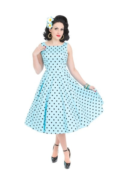 Caprice Blue Day Dress