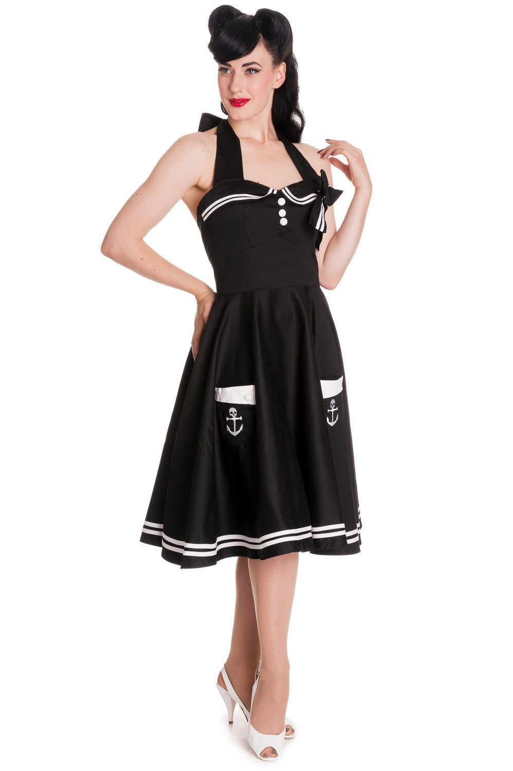 Motley 50's Anchor Dress
