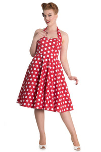 Mariam Polka Dot 1950's Pin-Up Dress