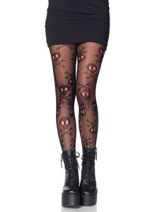 Pirate Skull and Crossbones Tights