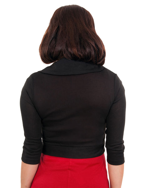 Marilyn Rose Sweater in Black