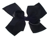 Solid Color Hair Bow