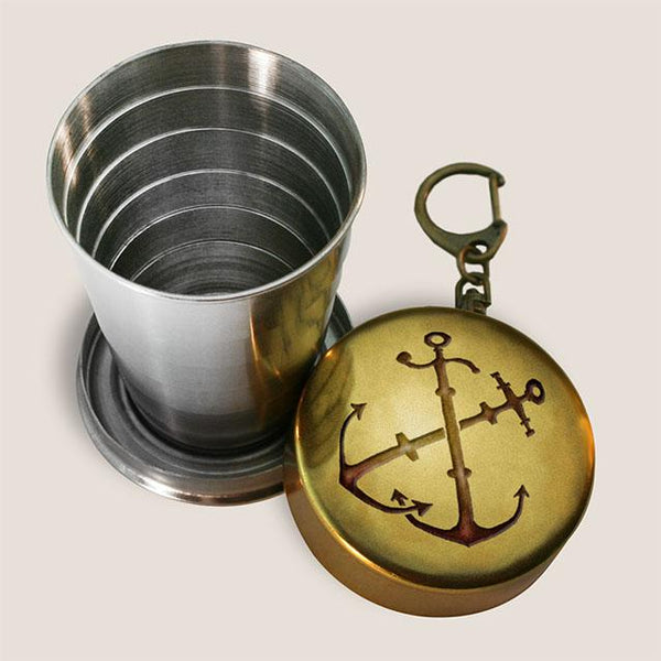 Anchors Portable Shot Glass