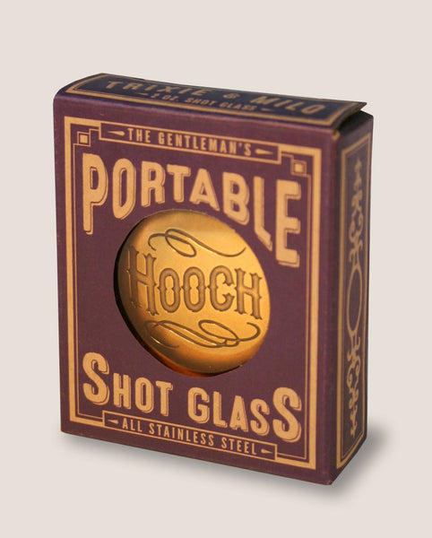 Down the Hatch Portable Shot Glass