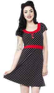 Beki Polka Dot Dress