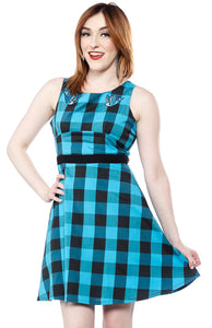 Swallows Buffalo Plaid Dress