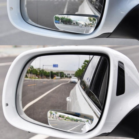 Blind Spot Mirror For Cars Adjustable Side Blind Spot Wide View Mirror