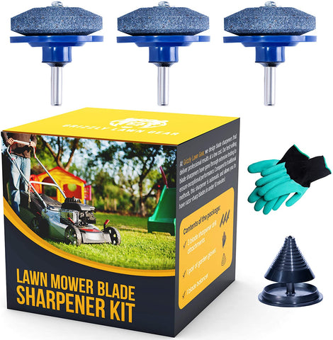 Grizzly Lawn Mower Blade Sharpener