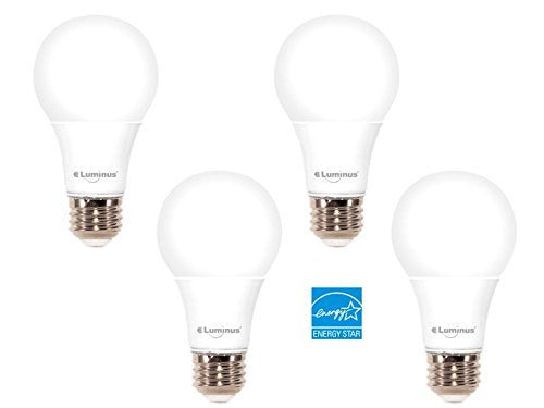 10W A19 DIMMABLE LED - 3000K - 4 PACK - Saveinstant