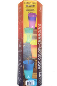 Manna Hot Color Changing To-Go Cups, 12-pack