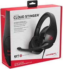 Load image into Gallery viewer, HyperX Cloud Stinger - Gaming Headset – Comfortable HyperX Signature Memory Foam, Swivel to Mute Noise-Cancellation Microphone, Compatible with PC, Xbox One, PS4, Nintendo Switch, and Mobile Devices