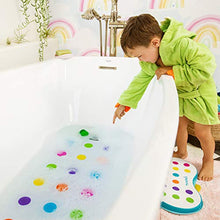 Load image into Gallery viewer, Munchkin Dandy Dots Bath Mat, White