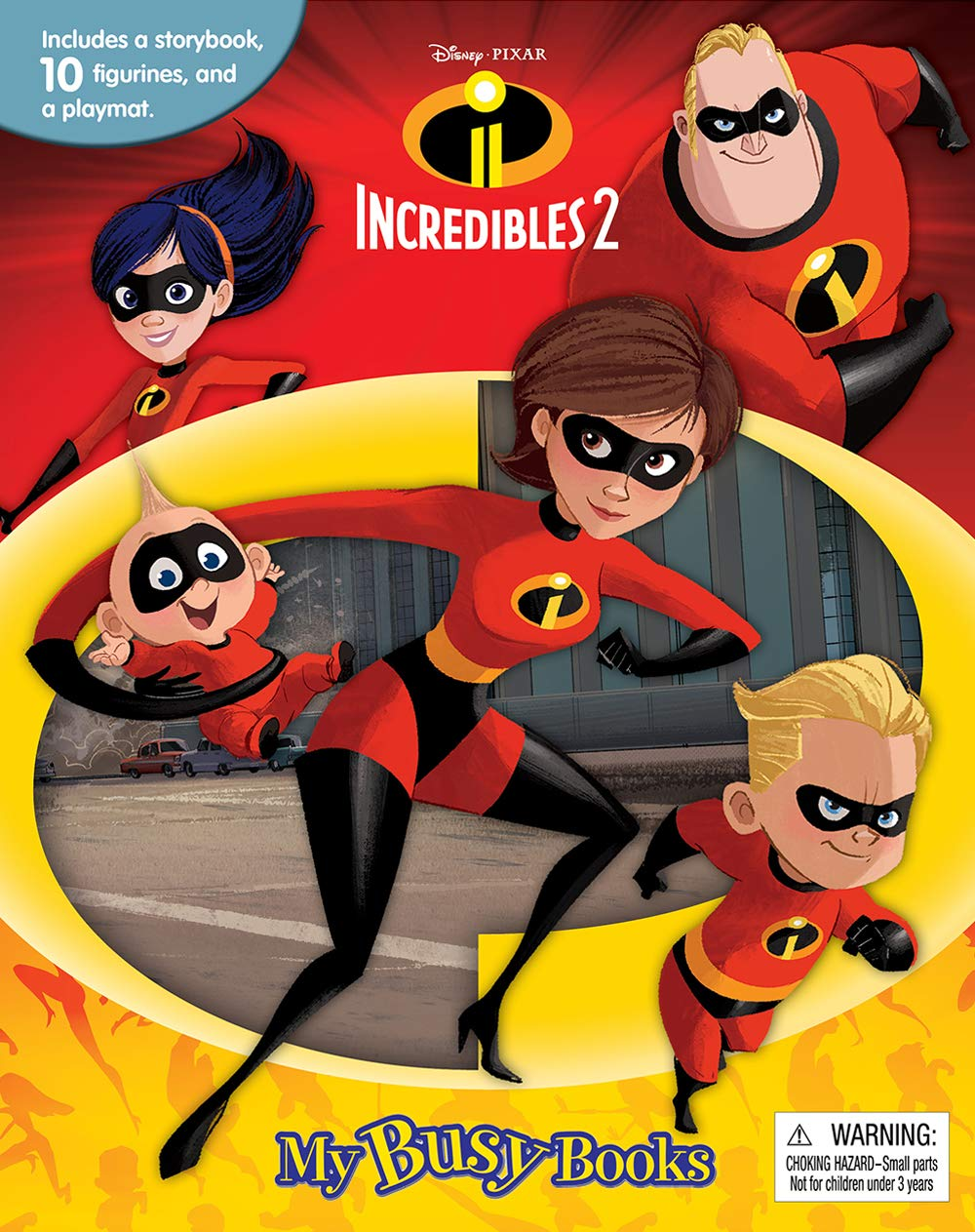 Disney The Incredibles 2 My Busy Book - Saveinstant