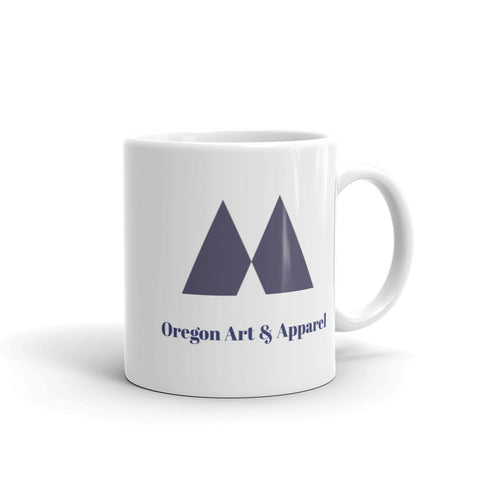 Oregon Art and Apparel Mug - Oregon Art & Apparel