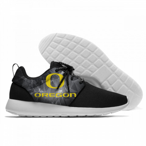 Breathable Men's/Women's University of Oregon Lightweight Sport Shoes Meshy Running Sneakers