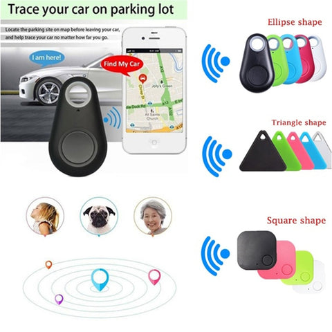 Bluetooth 4.0 Tracker GPS Locator Wallet Key Pet Tracker Anti-lost Pocket Size Smart Tracker