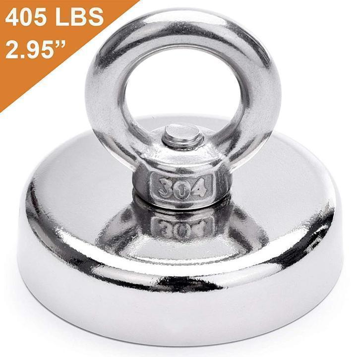 【Hot Sale!】- Magnetic Salvage Ring Deep Sea Fishing Magnet