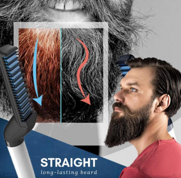 (Hot sale today 50% DISCOUNT! ) Quick Beard Straightener Comb (Buy 2 Free Shipping)