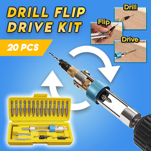Quick-Flip Drill & Drive Kit (Set of 20)