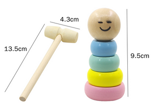 Unbreakable wooden Man Magic Toy(🎉First Day's Promotion 🎉)