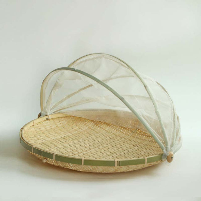 Bamboo_Serving_Tray_with_Insect_Proof_Cover_Style_A