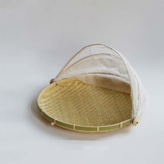 Bamboo_Serving_Tray_with_Insect_Proof_Cover_Style_B