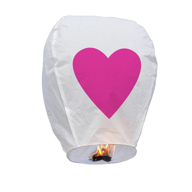 Biodegradable_Chinese_Flying_Lanterns_Heart