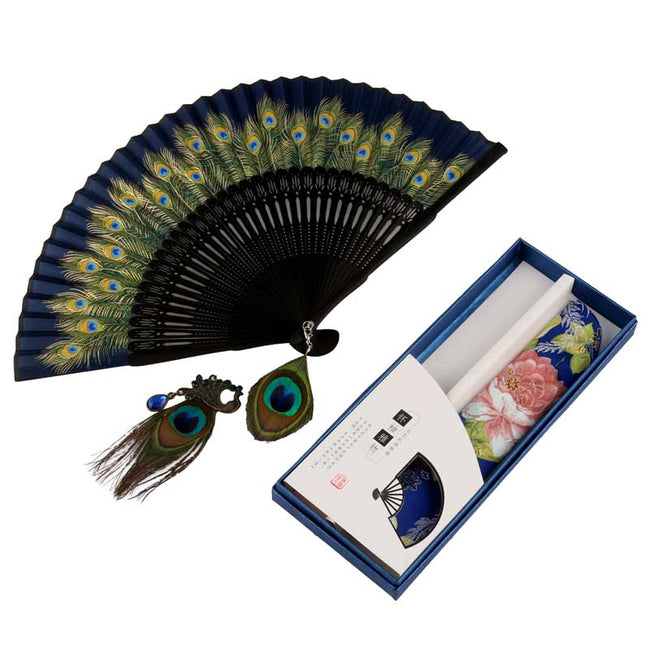 Chinese_Feather_Fan_Blue