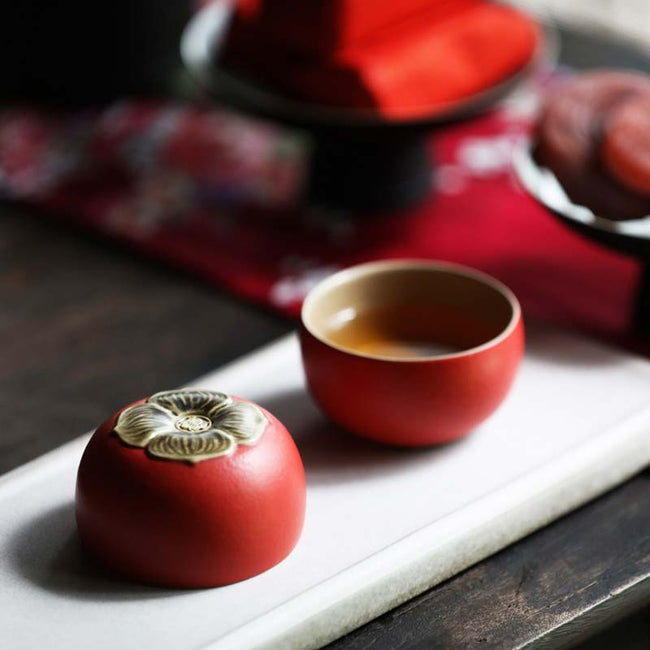 Chinese_Red_Ceramic_Tea_Set_with_Persimmon_Shaped_01