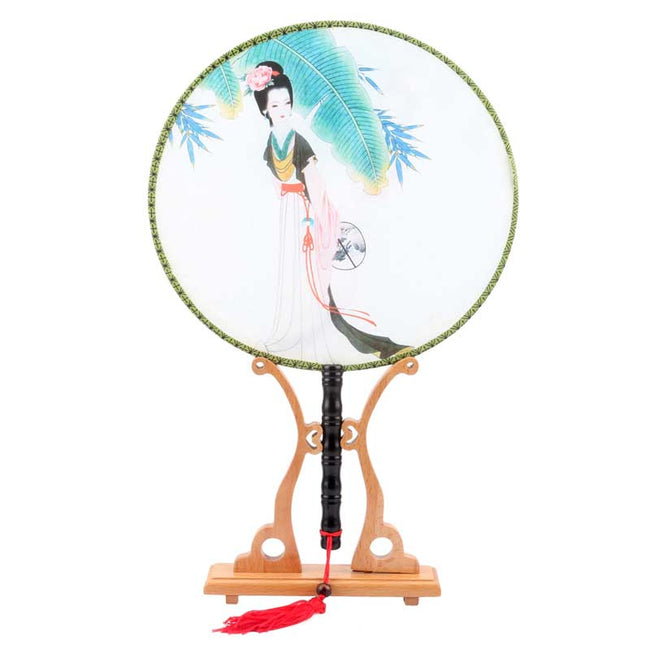 Chinese_Wooden_Round_Fan