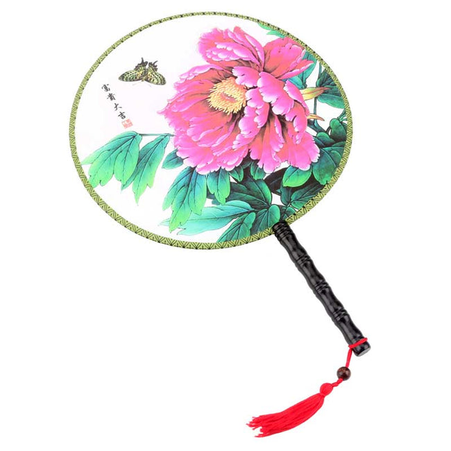 Chinese_Wooden_Round_Fan_Style_D