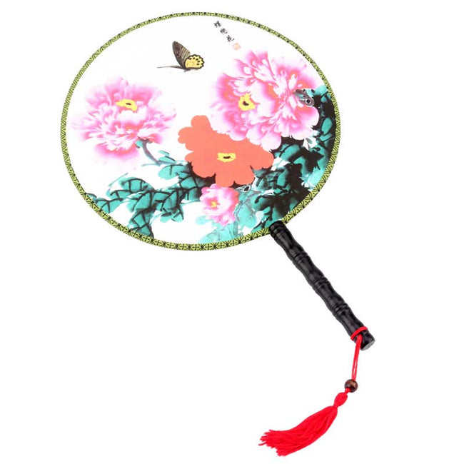 Chinese_Wooden_Round_Fan_Style_E