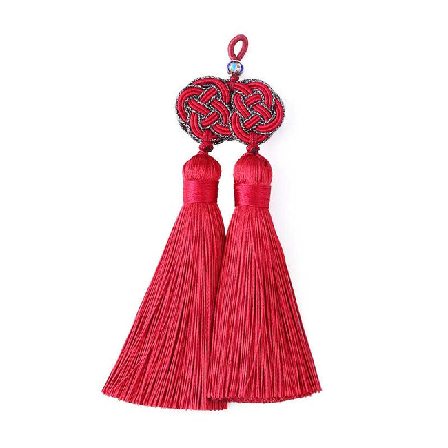 Double_Coin_Knot_Bookmark_Tassels
