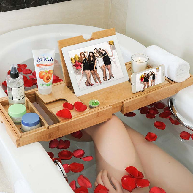 Extendable_Bamboo_Bathtub_Shelf_Style_A_01