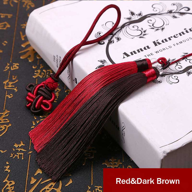 Lucky_Charm_Beaded_Tassels_Red&Dark_Brown