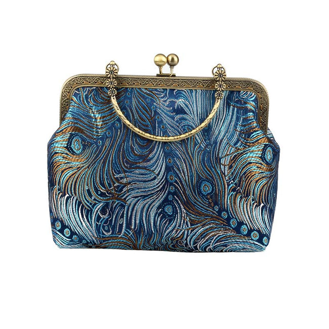 Peacock_feather_brocade_cross_bag