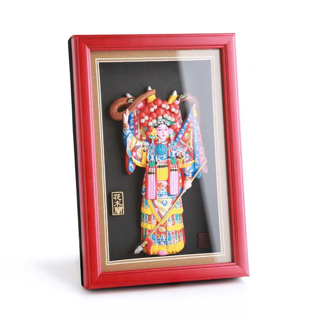 Peking_Opera_Face_Painting_Clay_Sculpture_Decorations_Huamulan