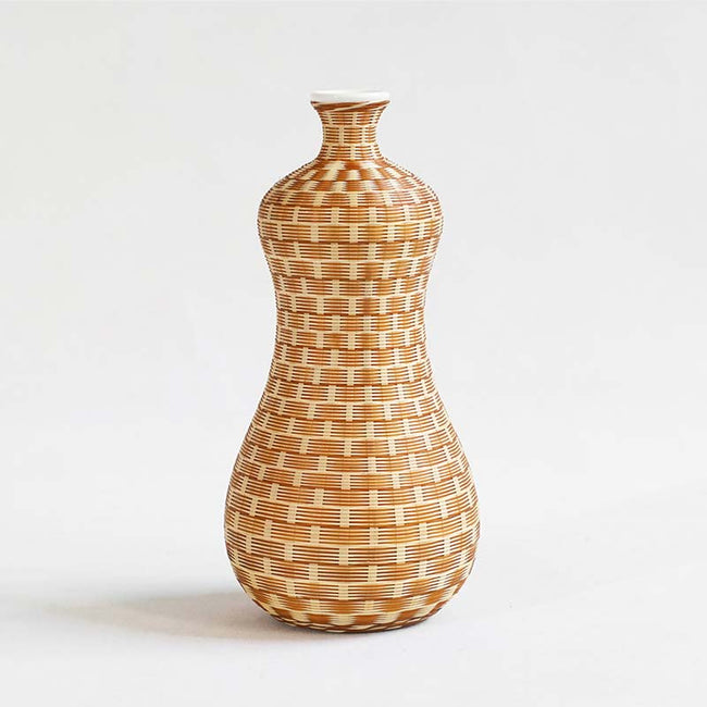 Porcelain_Tire_Bamboo_Flower_Vase_with_Gourd_Shape_Style_A