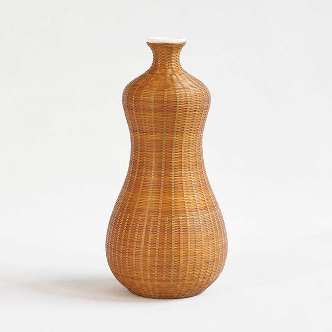 Porcelain_Tire_Bamboo_Flower_Vase_with_Gourd_Shape_Style_B