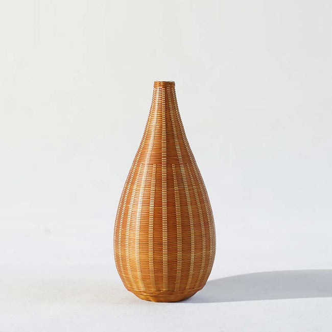 Porcelain_Tire_Bamboo_Flower_Vase_with_Gourd_Shape_Style_C