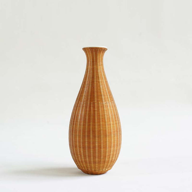 Porcelain_Tire_Bamboo_Flower_Vase_with_Gourd_Shape_Style_D