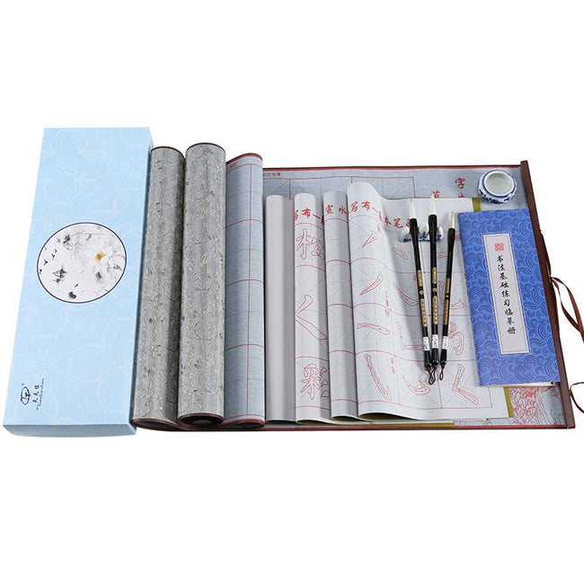 Reusable Water Writing Cloth for Chinese Calligraphy Practice
