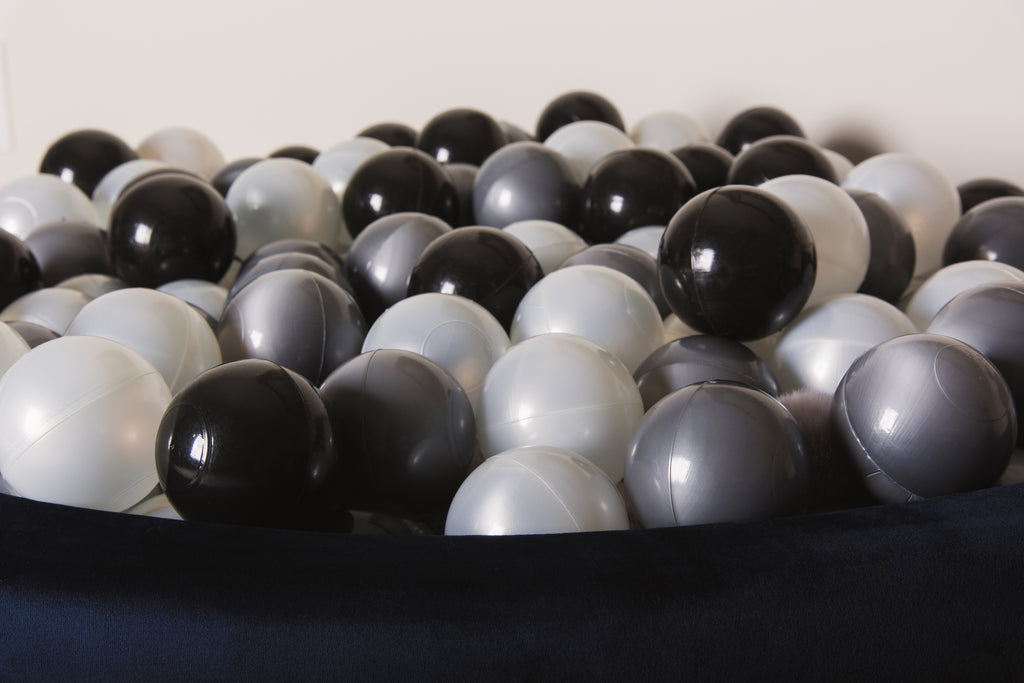Silver Pit Balls - Little Big Playroom