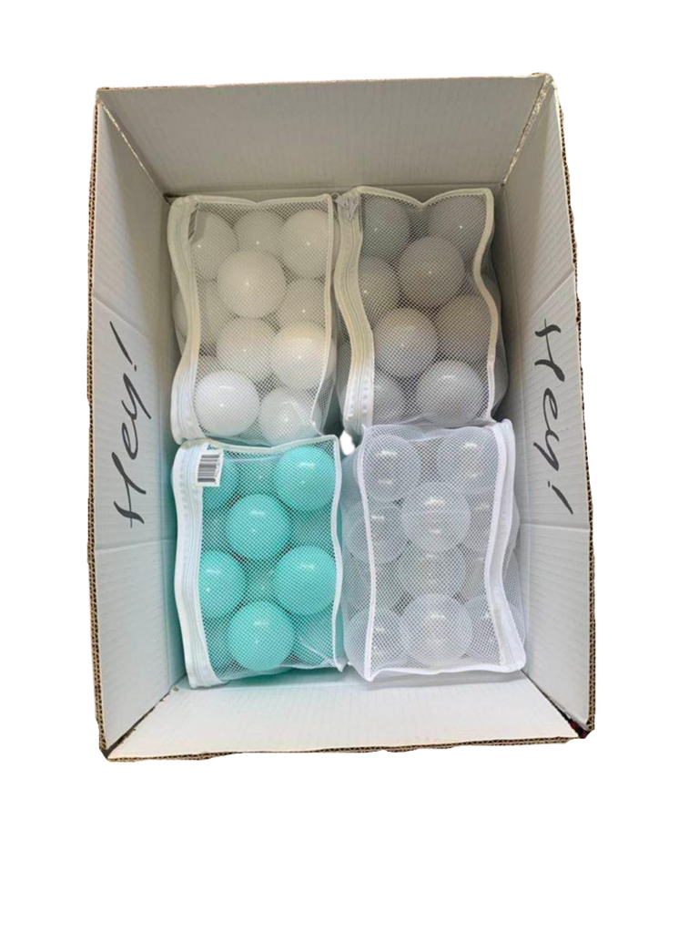OCEAN MIX (200 pcs) - Aqua, Stone, Water, Porcelain - Pit Ball