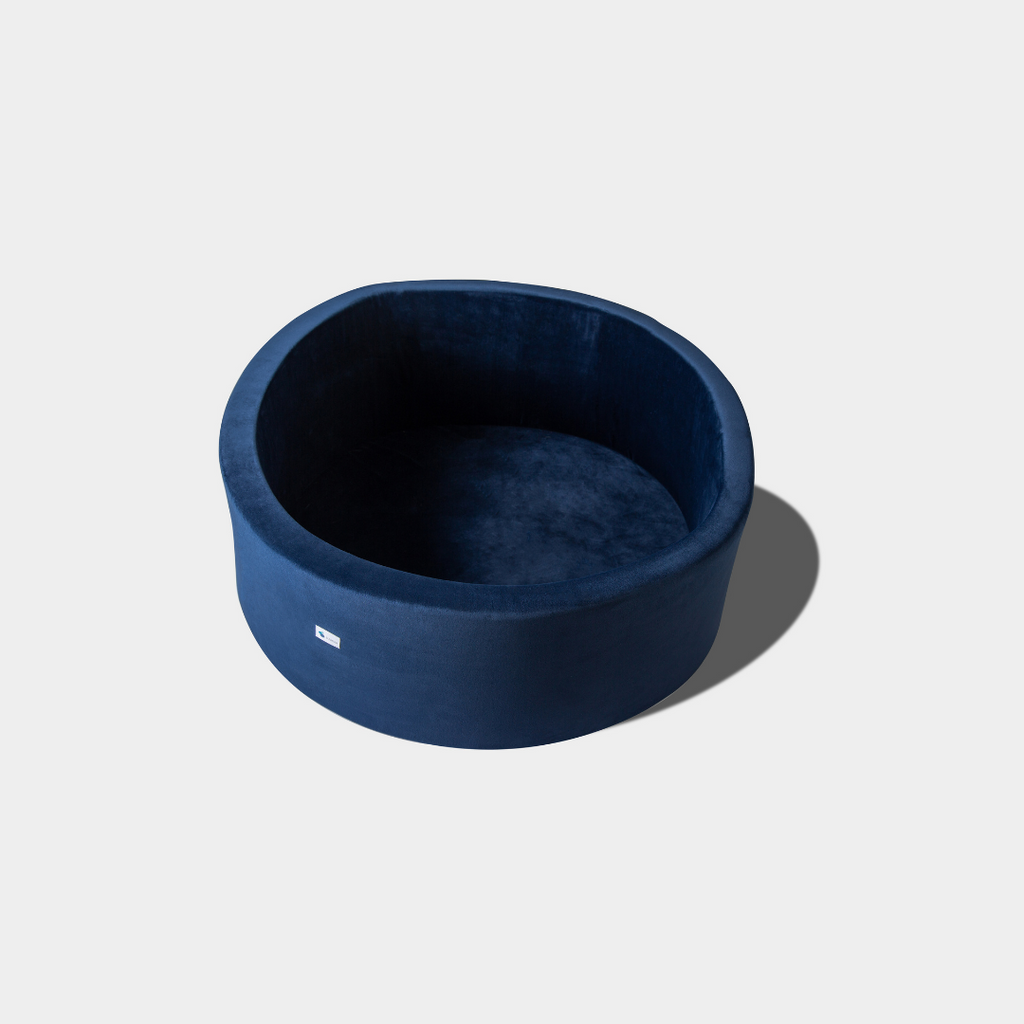 Luxurious Velvet Navy Blue - Ball Pit