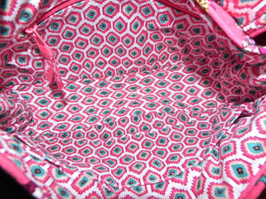 Vera Bradley Call Me Coral Saddle Up Shoulder Bag