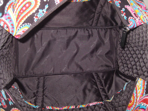 Vera Bradley Parisian Paisley Get Carried Away Tote