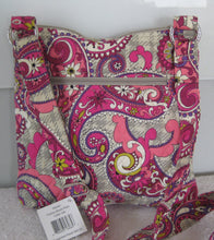 Vera Bradley Paisley Meets Plaid Hipster Crossbody Bag
