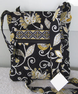 Vera Bradley Yellow Bird Hipster Crossbody Bag